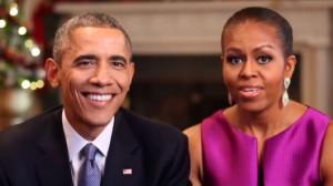 El President Barack Obama y la Primera Dama Michelle Obama