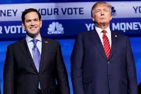 A pesar de haberse dicho horrores el uno al otro durante las primerias,, el Presidente electo Trump y el Senador Marcos Rubio podrían unirse en una política para aislar a Cuba