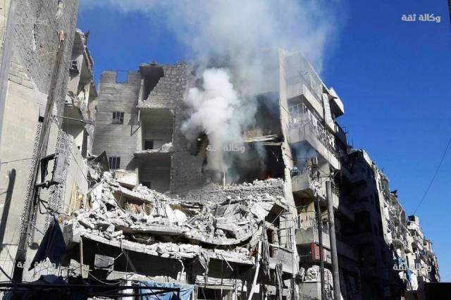 Foto de AP muestra la destrucción de Alepo en Noviembre de 2016