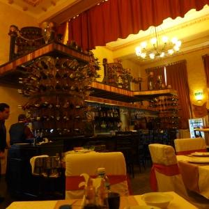 Bar del restorán Los Nardos frente al Capitolio