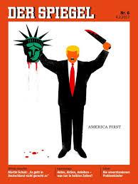 Portada de la revista alemana Der Spiegel
